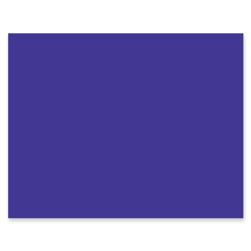"Peacock 4-Ply Railroad Board, 22""X28"", Purple, 25 Boards"