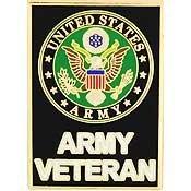 US Army Veteran Lapel Pin - Us Army Veteran Hat Pin