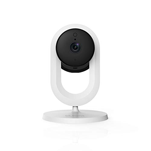 blurams Home Security Camera with Two-Way Audio, Night Vision, Motion Detection, Instant Alerts, Cloud Available, Works with Alexa & Google Assistant & IFTTT & Siri