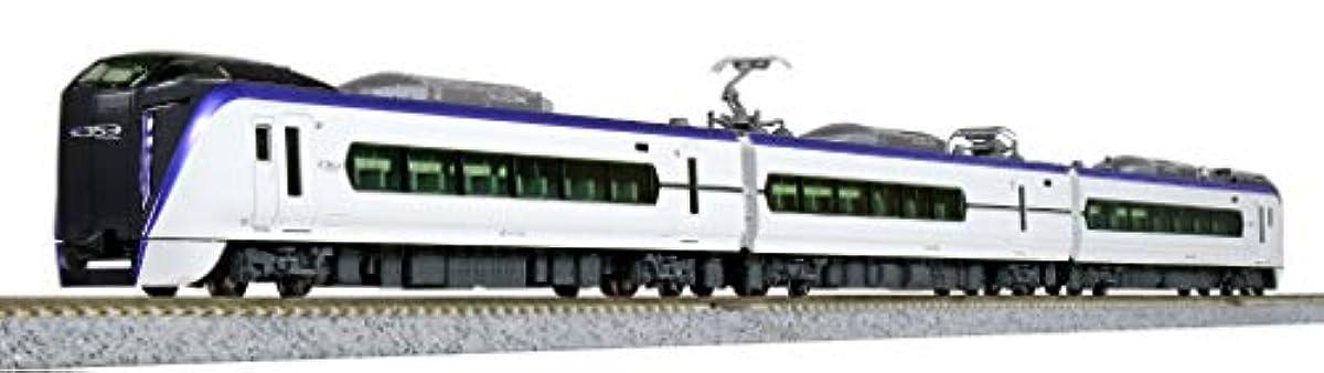[해외] KATO N게이지 E353 계「아즈사  사 하다」부속 편성 세트 3냥 10-1524 철도 모형 전철