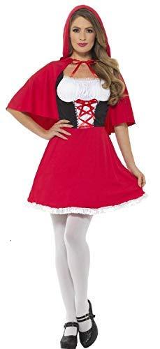 Fancy Me Disfraz de Campana roja para Mujer con Texto en inglés ...