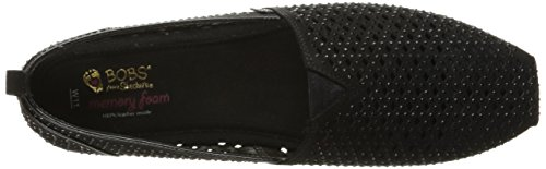 Bobs Luxe Skechers Black Cut 33955 Black Coast South Womens Out OSx6Rw