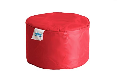 "Alta Footstool Bean Bag Ottoman (COVER ONLY) Made Stain and Water Resistant to Help Rest Your Feet and Legs, 13.7"" x 21.6"" ()"