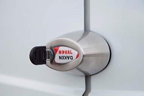 Daken Serrure antivol NOVAL Simple pour v/éhicules Utilitaires