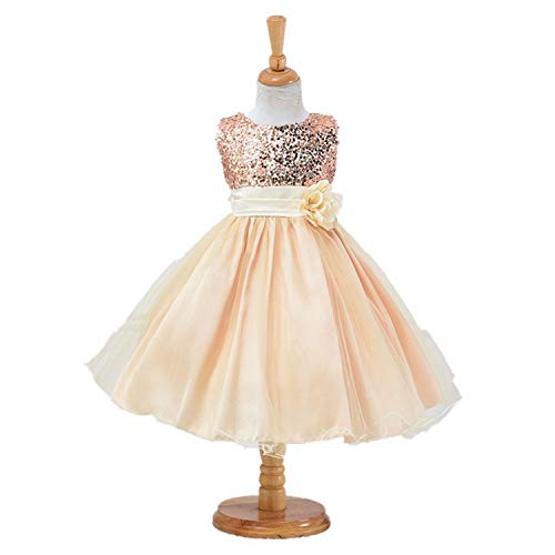 1-14 Yrs Teenage Girls Dress Wedding Party Princess Christmas Dress for Girl Party Kids Cotton Party Girls,As Picture9,3T]()