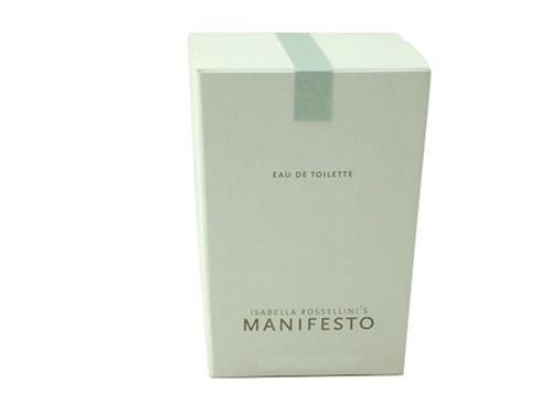 Manifesto Rossellini By Isabella Rossellini For Women. Eau De Toilette Spray 2.5 Ounces