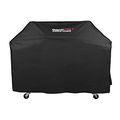 Royal Gourmet BBQ Grill Cover with Heavy Duty Waterproof Polyester Oxford, Medium 54-Inch for Weber, Char Broil, Brinkmann