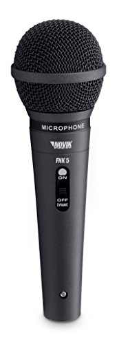 NOVIK NEO FNK 5 Professional Dynamic Microphone with Cardioid Polar Pattern and Cable.