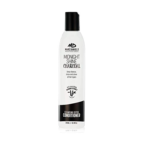 Charcoal Clarifying Conditioner - Sulfate Free – Vegan Friendly with Bamboo Extract Detoxifying for All Hair Types - Color Treated, Oily, Frizzy – for Women & Men by MARC DANIELS Professional