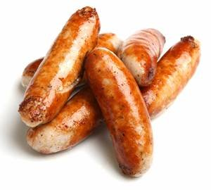 Rabbit Hickory Smoked Cooked Brats (8/4 Oz. Links, 1/2 Lbs. Package)
