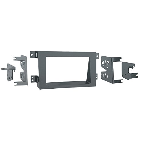 Metra 95-7870G Double DIN Installation Dash Kit for 2005-up Honda Ridgeline (Gray)