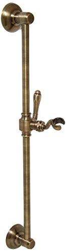 Jaclo 7424-AB Retro Handshower Slide Bar with Roaring 20's Lever Handle, 24