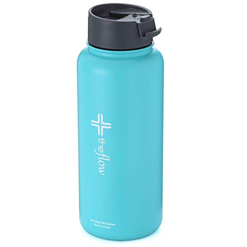 - the flow insulated water bottle (Teal, 32oz flip lid)