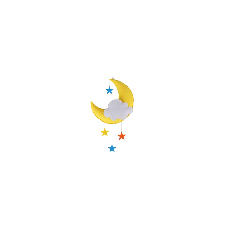 Baby Mobile for Crib Moon Star Cloud Baby Crib Mobile Room Decor