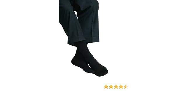 Amazon.com: MAXAR Mens Trouser Support Socks (20-22 mmHg) Black, Small, 2 Count: Health & Personal Care