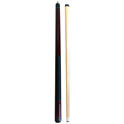 Aska Short Kids Cue Stick, Canadian Hard Rock Maple, 13mm Hard Tip (Red 52-inches) 52 Pool Cue Stick