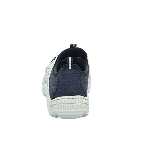 Donna L0559 Blue Basse Combination da Rieker Scarpe 14 Ginnastica wPfXXqC