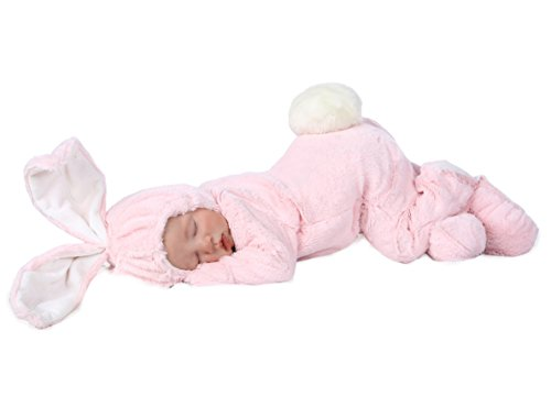 Princess Paradise Baby Anne Geddes Bunny Deluxe Costume, Pink, 3/6M