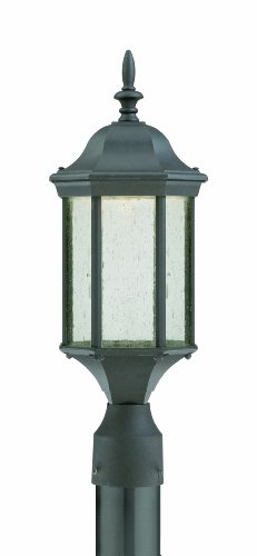 Thomas Lighting TW0008763 Hawthorne Led Outdoor Post Lantern, Painted Bronze For Sale