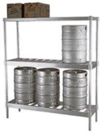 Eagle KR1860A-X Aluminum Beer Keg Rack