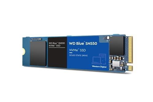 Wd Blue Sn550 Ssd M.2 2280 500gb Pcie Nvme 2400MB/s