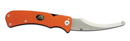Edge Folding Blade - Outdoor Edge ZipPro, ZO-10C, Folding Gutting Tool for Big Game Hunting