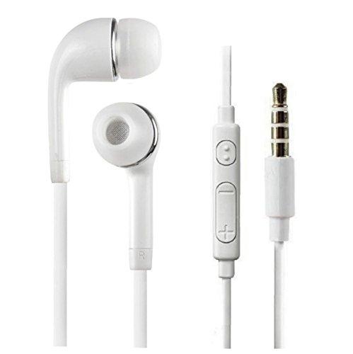 Stereo Headset Earbud Earphones w/Mic (Oem Mono Earbud)
