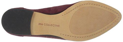206 Collective Womens Leona Slip-On Loafer Burgundy Suede bu87JC09Ri