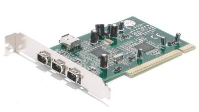 Startech PCI1394MP 3 PORT PCI IEEE-1394 FIREWIRE