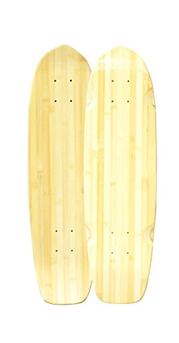 Bamboo Skateboards Downtown Cruiser Skateboard Deck, 27.25
