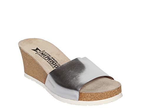 Donna Nickel Pe18 Sandalo Scarpe Star Lise Mephisto 42033 qHS7EFTxw