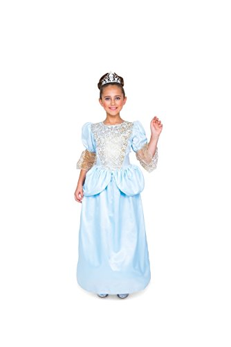 Karnival Girl's Cinderella Girl Costume Set - Halloween, Costume Party - (Cinderella Costumes For Tweens)