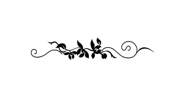 Scroll Embellishments Vinyl Wall Stickers Decal Border