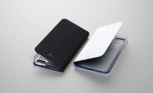 Zenus Avoc Ferrara Diary Case/Tasche Weiß für Apple iPhone 5/5S