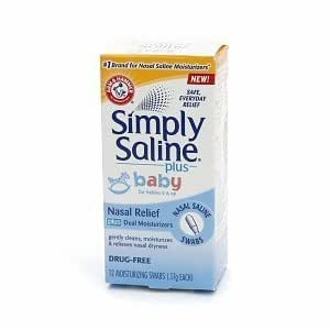 Amazon Com Simply Saline Bby Nasal S Size 12ct Simply