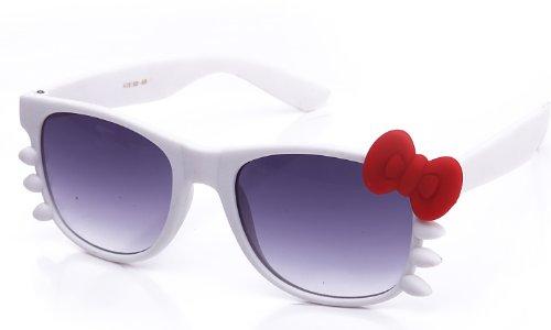 Newbee Fashion - Kyra Cute Ladies Retro Fashion Hello Kitty Sunglasses 20% OFF 4 Pairs or More