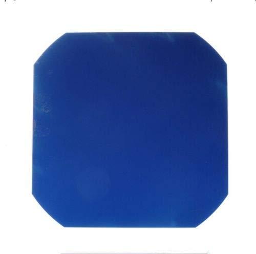 Solarzelle, flexibel, monokristalline Zellen, zum Schweißen für DIY-Solarmodul, hohe Effizienz, 3,4 W, C60, 5 x 5, 125 x 125 mm, sichere Verpackung, 3. Generation, 10pcs, blau, 10