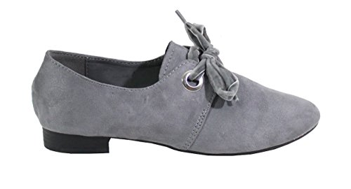 Basse grigio Donna Stringate Scarpe Shoes By PqtAw