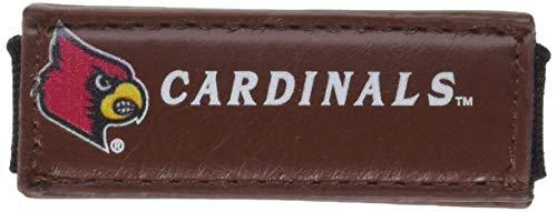 GameWear NCAA Louisville Cardinals Classic Football Money Clip Wallet, One Size, Brown - Louisville Cardinals Brown Football