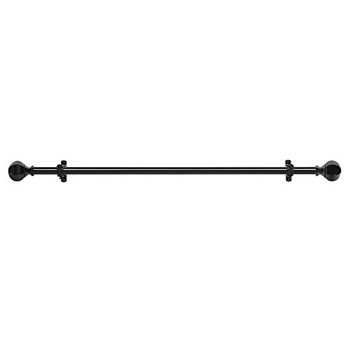 Achim Home Furnishings Buono II Decorative Rod and Finial, 66'' up to 120'', Regent by Achim Home Furnishings (Image #1)
