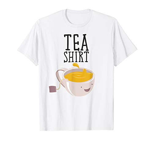 (Funny Hot Tea T-Shirt Food and Drinks Design)
