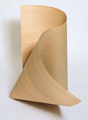 Uniformwood Cherry Wood Veneer Qtr Cut 4x8 10 mil Sheet