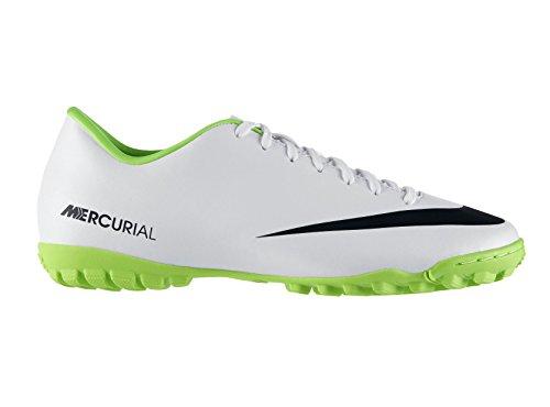 Nike Mercurial Victory IV TF Mens Football Boots 555615 103 Soccer Cleats Turf (UK 6 US 7 EU 40) (Nike Mercurial Victory Iv Fg Mens Football Boots)