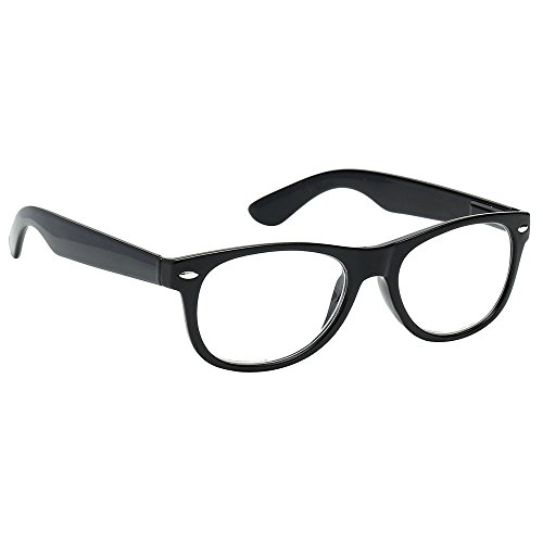 Black Wayfarer Lunettes mixte Single adulte iMagnify f18wxqXZvx