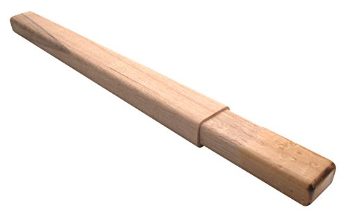 A&R Hockey Stick Wooden Butt End Round Solid Wood Extension For Composite Stick, Wood Butt End - Junior 12