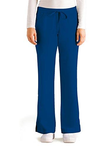 Grey's Anatomy Women's Junior-Fit Five-Pocket Drawstring Scrub Pant - XXX-Large - -