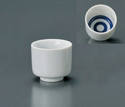JANOME Jiki Japanese Porcelain Set of 2 Sake Cups watou.asia