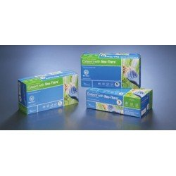 Cardinal Health Esteem N88RX01T Latex Free Examination Gloves With Neu-Thera Formulation, Size X-small (Case of 1000)