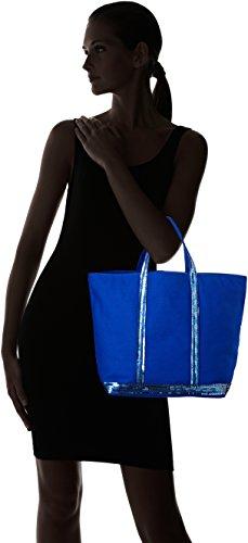 Paillettes Coton Cabas Bruno Bleu Electrique Vanessa et Bleu Medium Cabas q5Xwwt