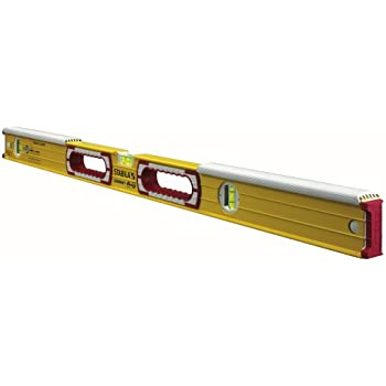 Stabila 36448 - 48-Inch Mason Level with dead-blow shield
